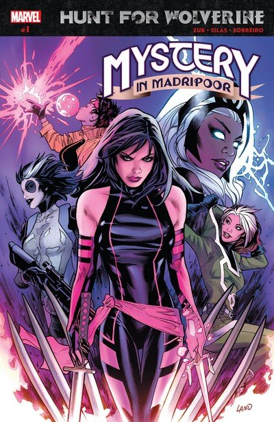 Hunt for Wolverine – Mystery in Madripoor #1 – 4 (2018)