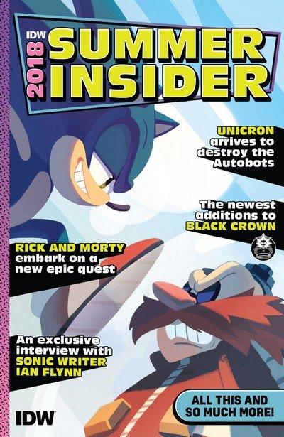 IDW Summer Insider Catalogue 2018
