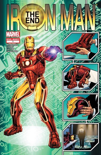 Iron Man – The End #1 (2008)