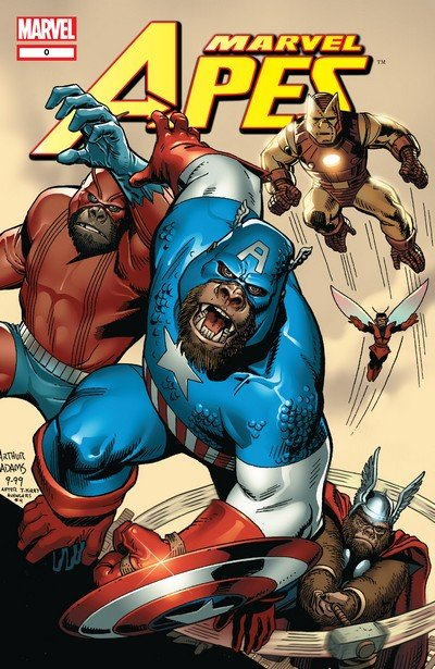 Marvel Apes (Collection) (2008-2009)