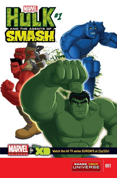 Marvel Universe Hulk – Agents Of S.M.A.S.H. #1 – 4 (2013-2014)