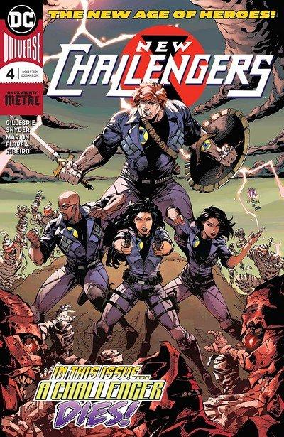 New Challengers #4 (2018)
