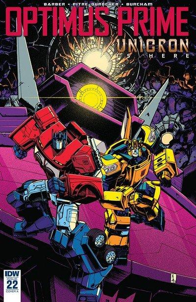 Optimus Prime #22 (2018)