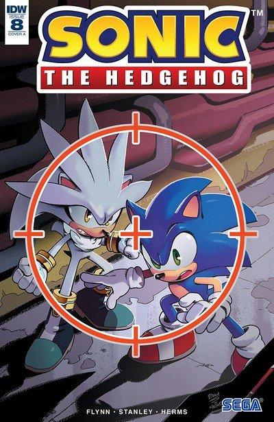 Sonic The Hedgehog #8 (2018)