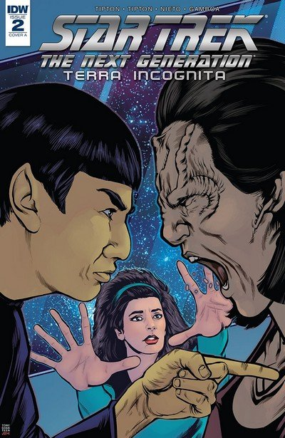 Star Trek – The Next Generation – Terra Incognita #2 (2018)