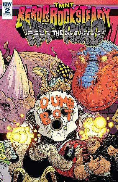 Teenage Mutant Ninja Turtles – Bebop And Rocksteady Hit The Road #2 (2018)