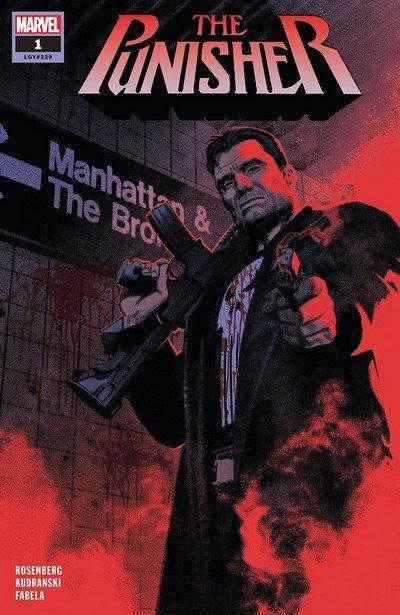 Capa de The Punisher #1 por Greg Smallwood.