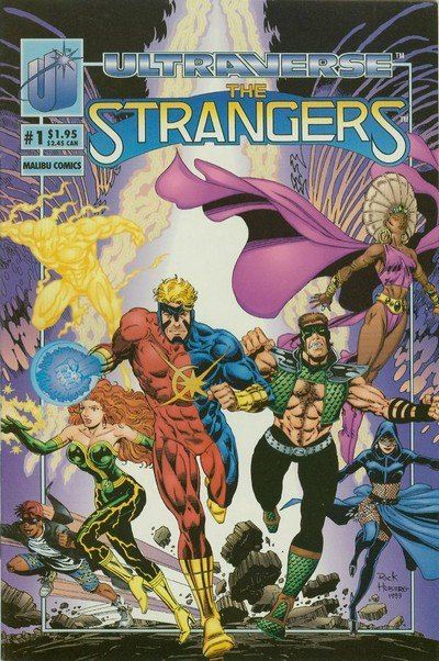 The Strangers #1 – 24 (1993-1995)