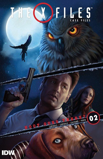 The X-Files – Case Files – Hoot Goes There #2 (2018)