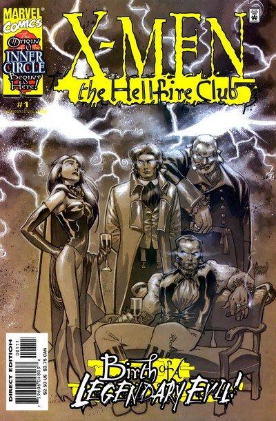X-Men – Hellfire Club #1 – 4 (2000)