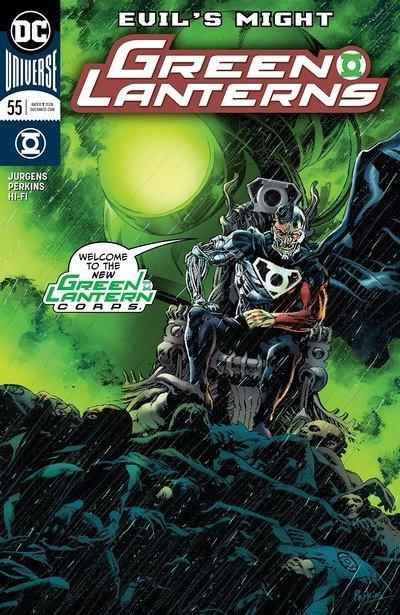Green Lanterns #55 (2018)