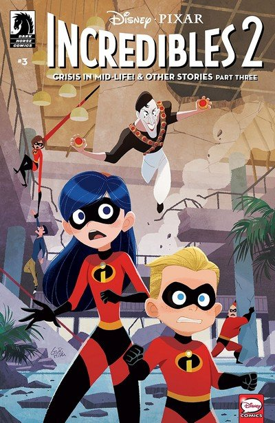 Incredibles 2 – Crisis in Mid-Life! & Other Stories #3 (2018)