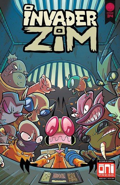 Invader Zim #34 (2018)