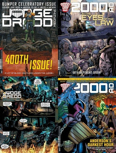 Judge Dredd – 2000AD #1 – 2100 (Collection) (1977-2018)