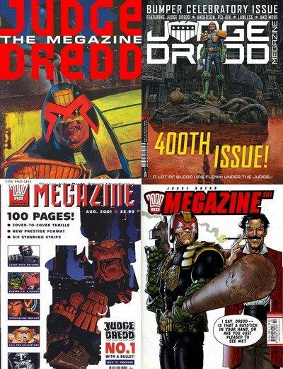Judge Dredd Megazine #1 – 400 (1991-2018)