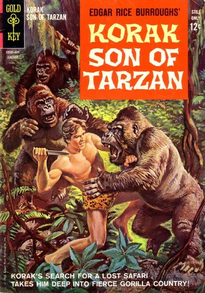 Korak – Son of Tarzan + Tarzan Family #1 – 66 (1964-1976)