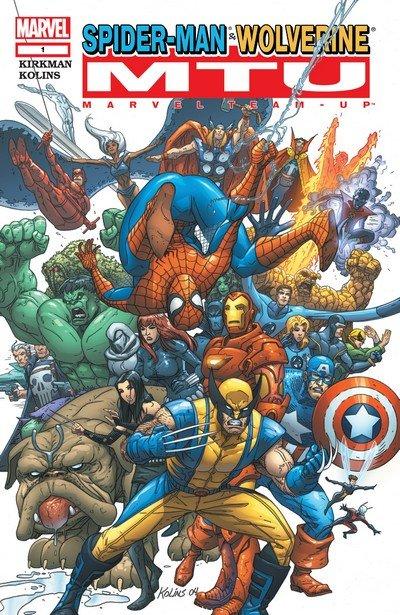 Marvel Team-Up Vol. 3 #1 – 25 (2004-2006)