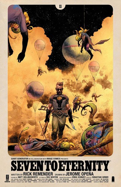 Seven To Eternity #11 (2018)