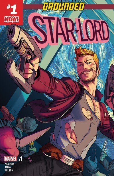 Star-Lord Vol. 2 #1 – 6 + Annual (2016-2017)
