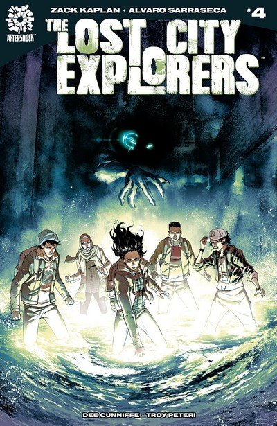 The Lost City Explorers #4 (2018)
