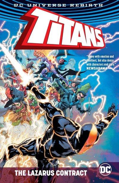 Titans – The Lazarus Contract (TPB) (2017)