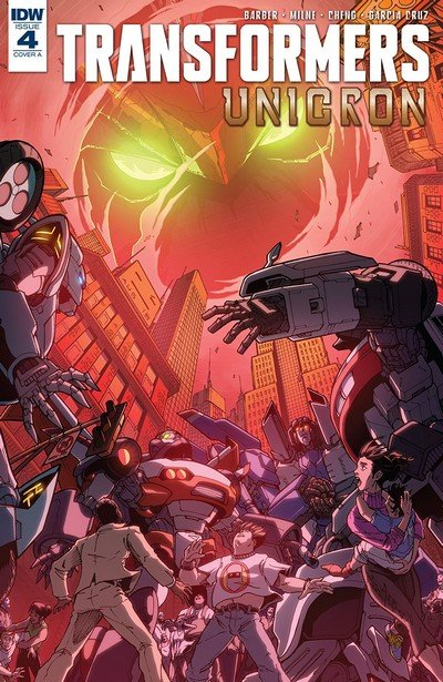 Transformers – Unicron #4 (2018)