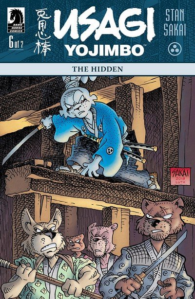 Usagi Yojimbo – The Hidden #6 (2018)