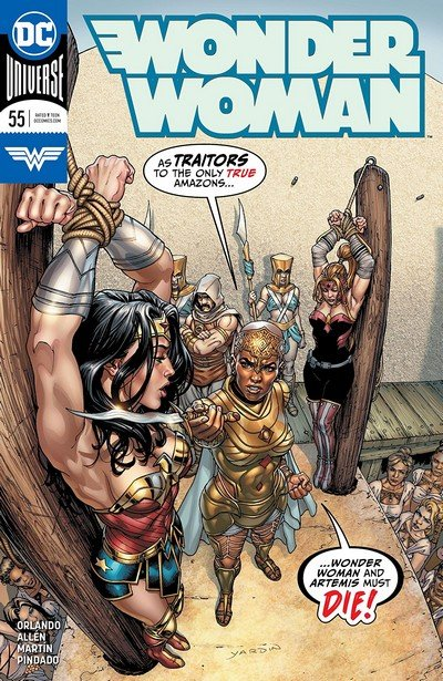 Wonder Woman #55 (2018)