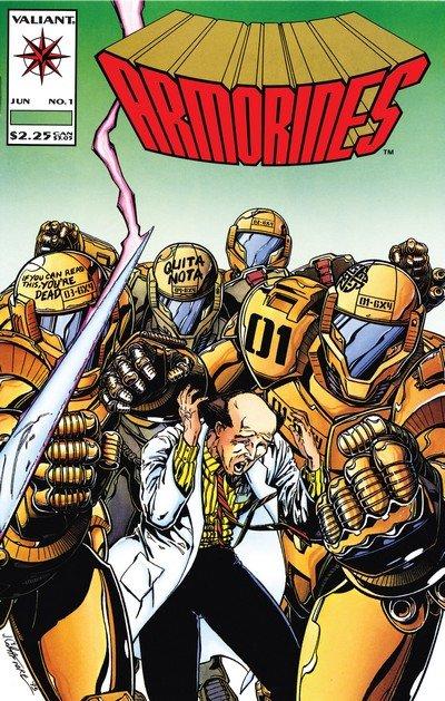 Armorines Vol. 1 #0 – 12 (1994-1995)
