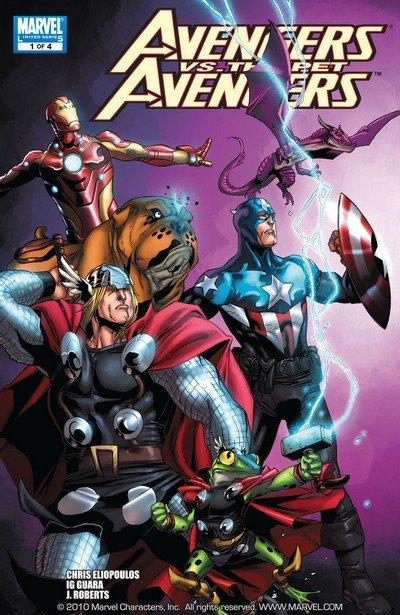 Avengers vs. Pet Avengers #1 – 4 (2010)