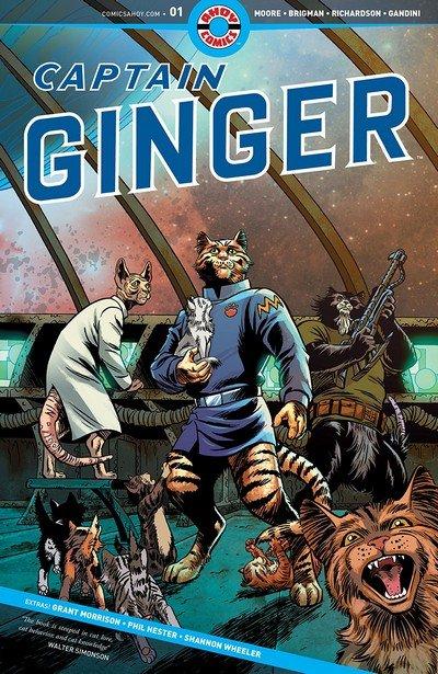 Captain Ginger #1 (2018)