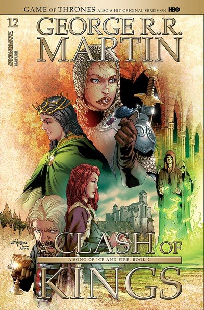 George R.R. Martin's A Clash Of Kings #13 (2018)