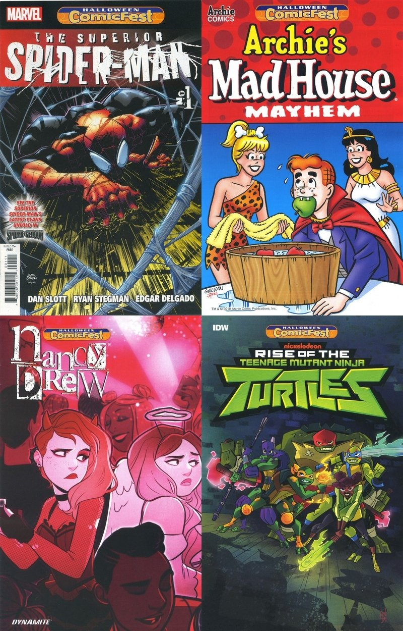 Halloween Comic Fest (Collection) (2018)