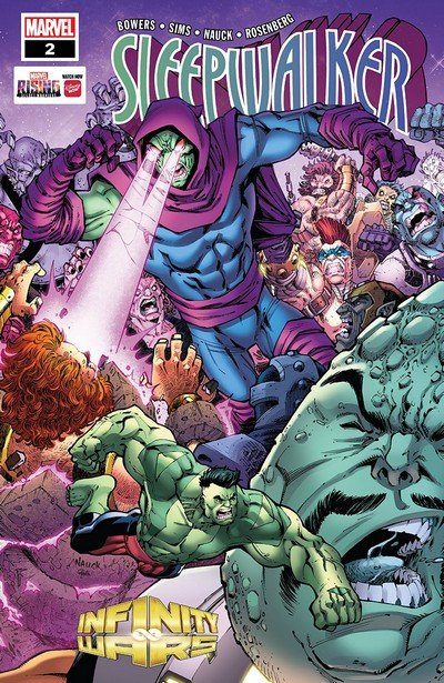 Infinity Wars – Sleepwalker #2 (2018)