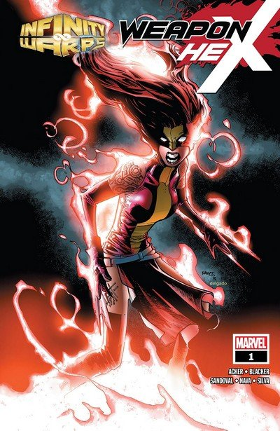 Infinity Wars – Weapon Hex #1 (2018)