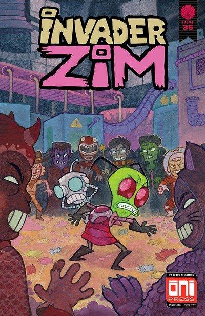 Invader Zim #36 (2018)