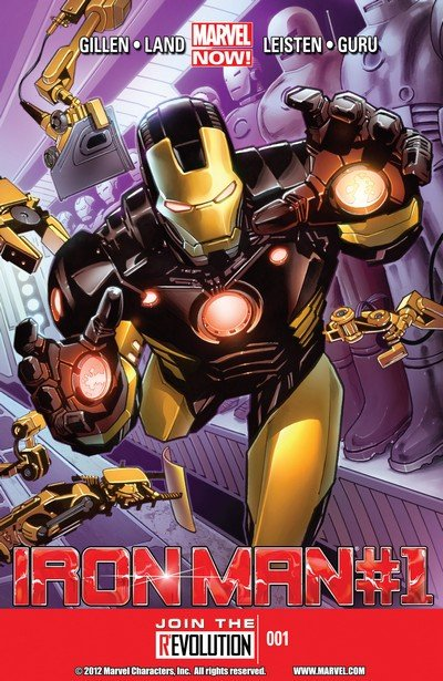 Iron Man Vol. 5 #1 – 28 + TPBs (2013-2014)