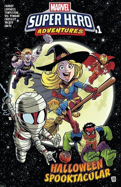 Marvel Super Hero Adventures – Captain Marvel – Halloween Spooktacular #1