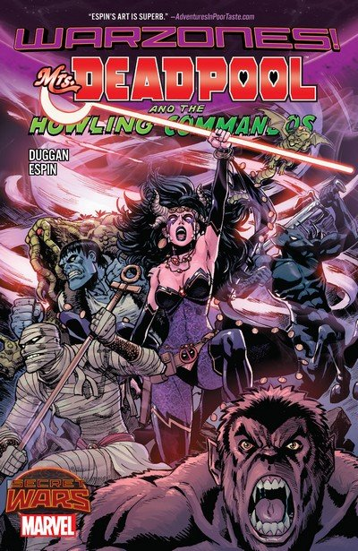 Mrs. Deadpool and the Howling Commandos (TPB) (2016)