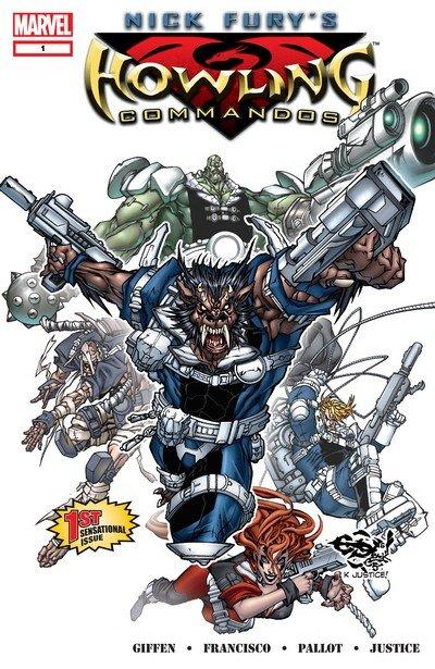 Nick Fury's Howling Commandos #1 – 6 (2005-2006)