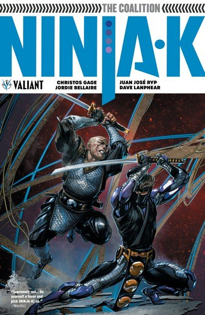Ninja-K Vol. 2 – The Coalition (TPB) (2018)