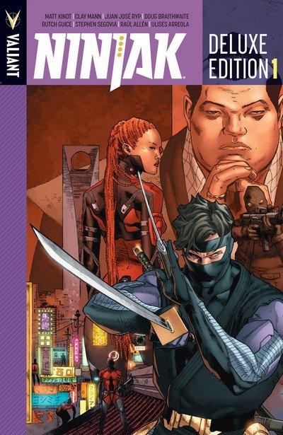 Ninjak – Deluxe Edition Book 1 (2016)
