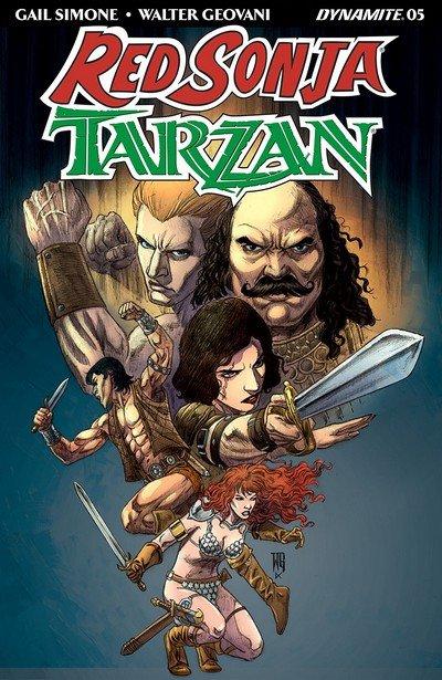 Red Sonja – Tarzan #5 (2018)