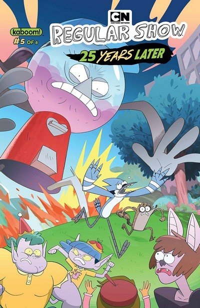 Regular Show – 25 Years Later #5 (2018)