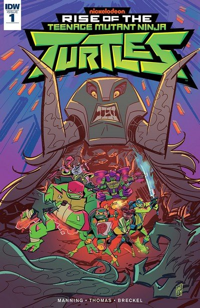 Rise Of The Teenage Mutant Ninja Turtles #1 (2018)