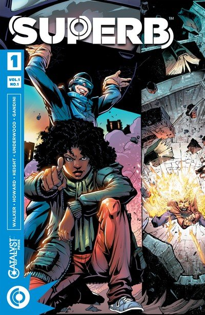 Superb #1 – 14 + TPB Vol. 1 – 2 (2017-2018)
