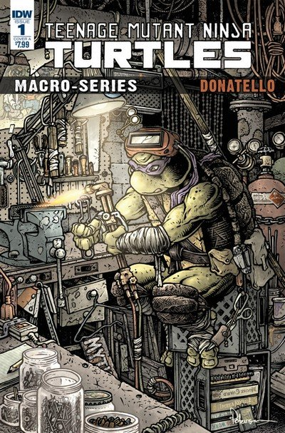 Teenage Mutant Ninja Turtles – Macroseries #1 – Donatello (2018)