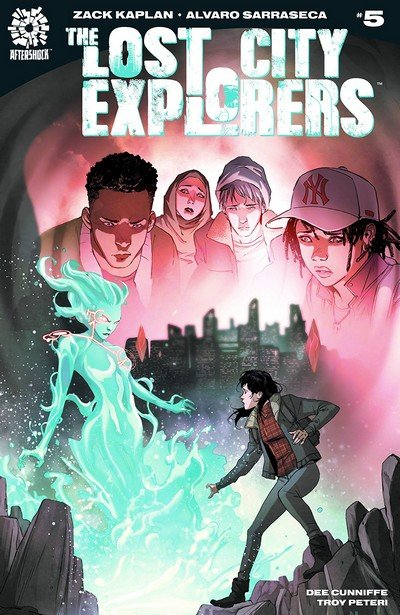 The Lost City Explorers #5 (2018)