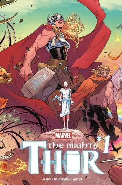 The Mighty Thor Vol. 3 #1 – 23 + 700 – 706 + TPBs (2017-2018)