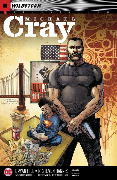 The Wild Storm – Michael Cray #1 – 12 (2017-2018)